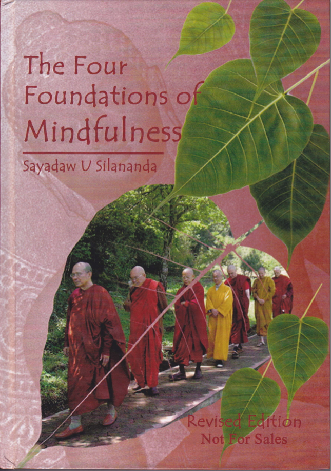 "Portada del libro ""The Four Foundations of Mindfulness"" del Ven. U Silananda"